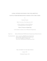 Global optimization design tool for additively manufactured heterogeneous microlattice structures