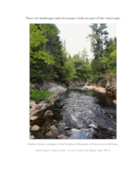Thermal and hydraulic characteristics of landscapes and their rivers