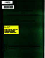 Design of a structure management database for major water crossings on Crown license 4