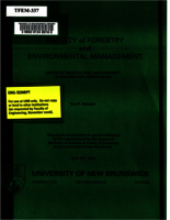 Design of negotiations and contract guidelines for timber sales