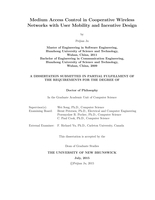 Medium access control in cooperative wireless networks with user mobility and incentive design
