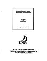 Economic Indicators, Units of Measurement and Convergence