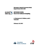 Mactaquac Aquatic Ecosystem Study Report Series 2015-003, METHODS PAPER: Reservoir Sediment Sampling