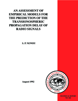 An assessment of empirical models for the prediction of the transionospheric propagation delay of radio signals