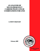Analysis of multi-frequency carrier phase linear combinations for GNSS