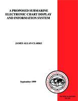A proposed submarine electronic chart display and information system