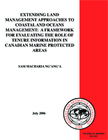 Extending land management approaches to coastal and oceans management