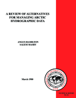 A review of alternatives for managing arctic hydrographic data