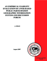An empirical usability evaluation of a web-based public participation geographic information system and discussion forum