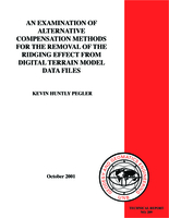 An examination of alternative compensation methods for the removal of the ridging effect from digital terrain model data files