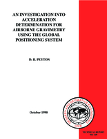 An investigation into acceleration determination for airborne gravimetry using the Global Positioning System