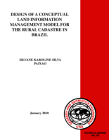 Design of a conceptual land information management model for the rural cadastre in Brazil