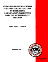 An improved approach for soil moisture estimation by employing illumination-corrected data in a modified Ts-VI method