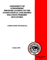 Assessment of atmospheric pressure loading on the international GNSS REPRO1 solutions periodic signatures