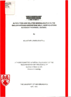 Alteration and related mineralization in the Qalluviartuuq greenstone belt, Northeastern Superior Province, Quebec