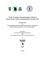 Action for change: empowering women victims of intimate partner violence to build healthier and safer lives