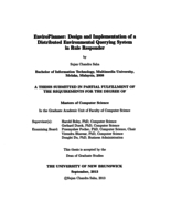 EnviroPlanner: design and implementation of a distributed environmental querying system in rule responder