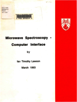 Microwave spectrometer - computer interface