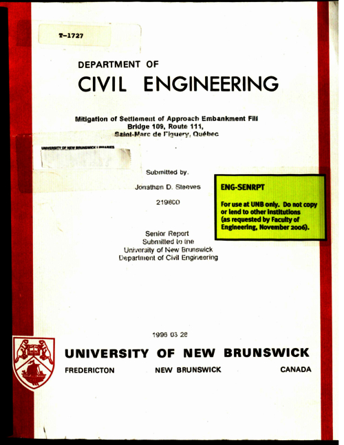 phd thesis civil engineering A thesis plan for the master of doctor of philosophy in civil and environmental engineering see the requirements for the phd in your chosen cee program under.